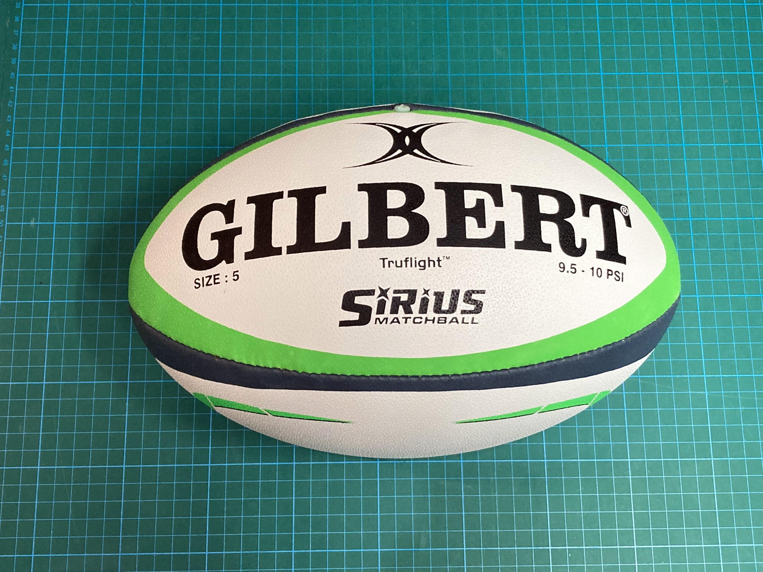 プロ用 GILBERT SiRiUS Rugby Ball ギルバート シリウス ラグビーボール