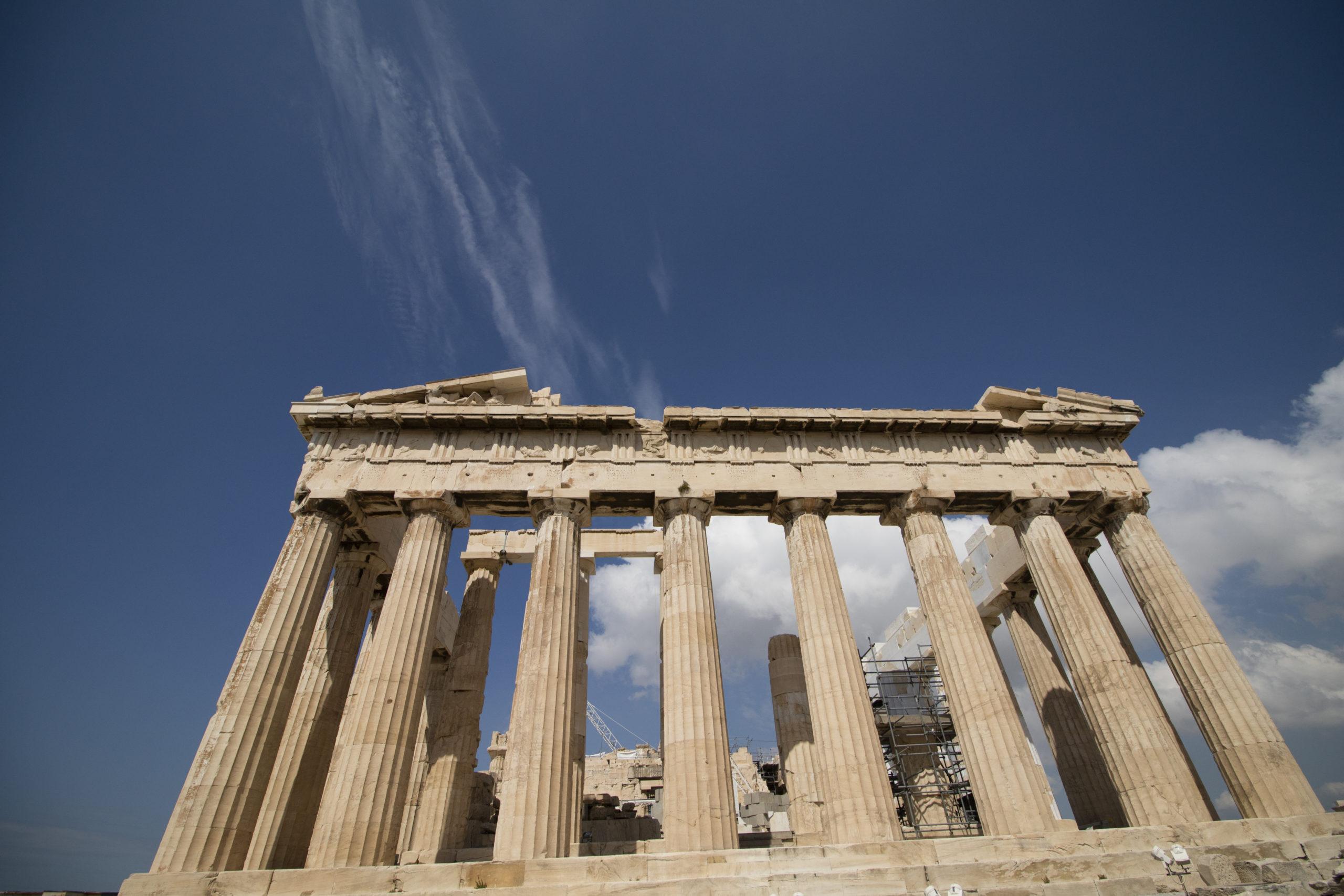 ギリシャ アテネ パルテノン神殿 2015年6月撮影