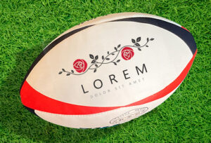 SCEPTRE Rugby Ball ラグビーボール 印刷