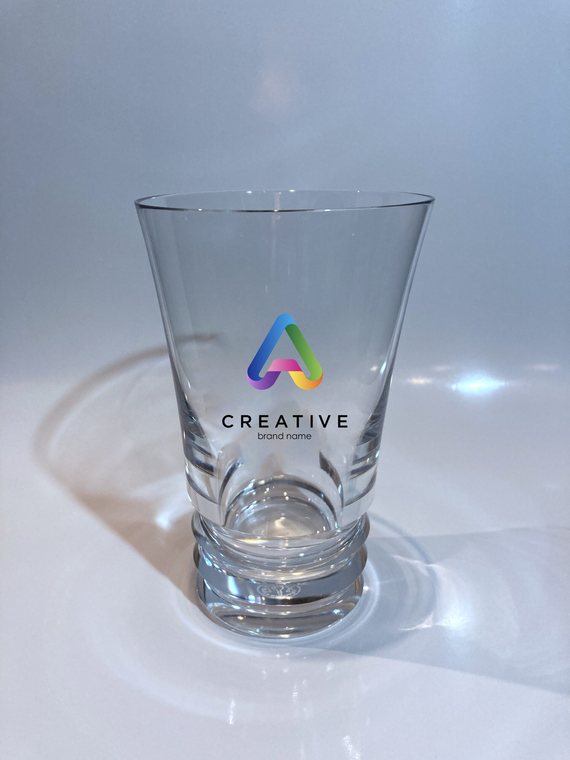 バカラ Baccarat グラス フルカラー 印刷 Laxerop Printing